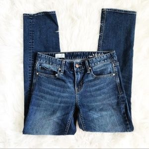 Gap 1969 Real Straight Blue Jeans